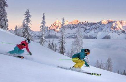 Skifahrer in Schladming