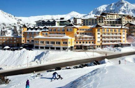 ingle mit Kind Skiurlaub Obertauern Hotel Steiner