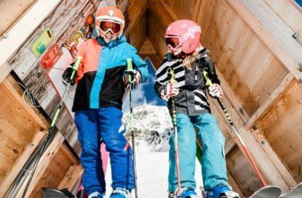 Single mit Kind Skiurlaub Obertauern Kinder skifahren