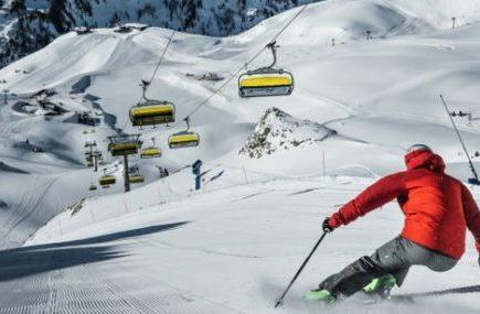 Single mit Kind Skiurlaub Obertauern Skifahrer