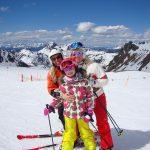 single mit kind skiurlaub