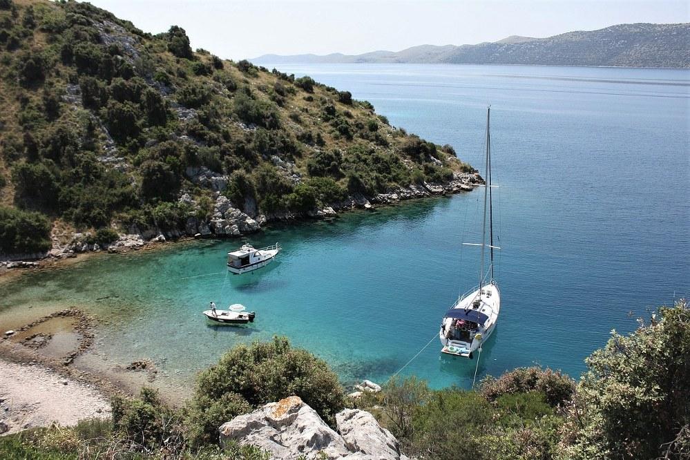 Bootsausflug in Kroatien