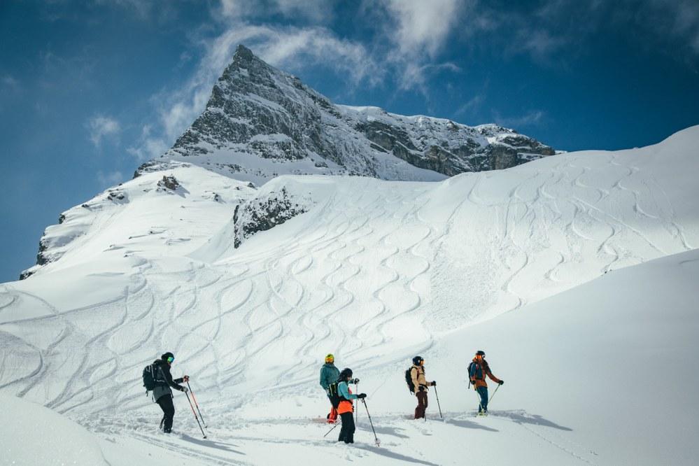 Hintertuxer Gletscher Skiwanderung