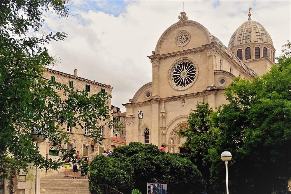 St. Jakobs Kathedrale in Sibenik in Kroatien